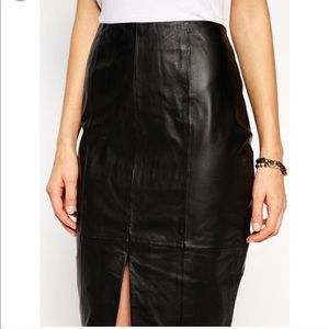 Leather skirt ❤️🎁💕🌺